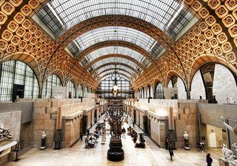Yuk Kita Intip Interior Musee d'Orsay, Museum Keren di Perancis!