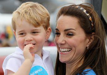 Dibandingkan dengan Foto Pangeran George, Warganet Malah Salah Fokus Pada Muka Kate Saat Kecil!