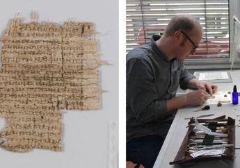 Peneliti Berhasil Mengungkap Isi Papirus Kuno yang Misterius