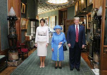 Duh, Kerajaan Inggris Kecolongan Hal Memalukan Ketika Trump Berkunjung