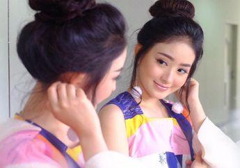 Biasa Bergaya Kalem, Natasha Wilona Tampil Nyentrik dengan Makeup Colorful, Makin Cute!