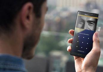 Samsung akan Pasang Teknologi Iris Scanner ke Smartphone Murahnya