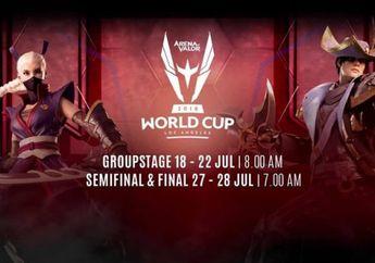 Live Streaming AOV World Cup, Yuk Tonton Timnas Indonesia vs Vietnam!