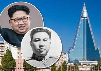"Digadang-Gadang Jadi Bangunan Tertinggi di Dunia, Inilah ""Hotel Malapetaka"" di Korea Utara"