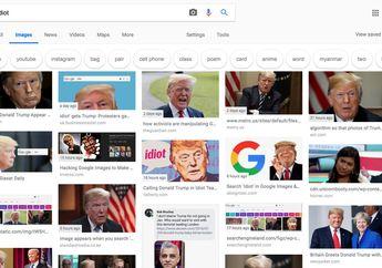 """Terlalu! Presiden AS Donald Trump """"Teridiot"""" di Mesin Pencari Google"""