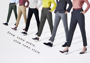 Ngintip Celana Baru Dari UNIQLO, EZY Bottoms, For Mankle Lovers!