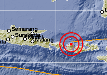 Gempa Berkekuatan 6,3 Kembali Mengguncang Lombok dan Sekitarnya
