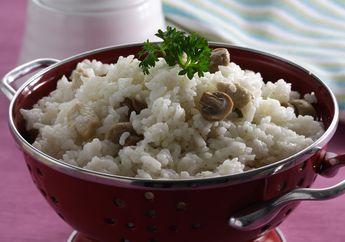 Sarapan Esok Pagi Pasti Akan Memuaskan Kalo Ada Nasi Gurih Ayam Jamur