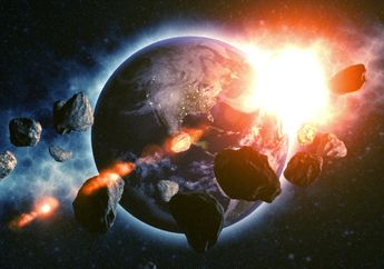 Tabrakan Asteroid Picu Gunung Berapi dan Kepunahan Dinosaurus