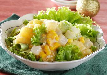 Saatnya Sarapan Praktis Dengan Salad Campur Yang Sehat Namun Tetap Nikmat