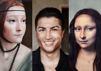 Makeup Mirip Lukisan Mona Lisa Vlogger Cantik Ini Curi Perhatian Publik