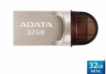 ADATA UC370 32 GB: Mudah Pindahkan Data Dengan Pilihan Dua Port USB