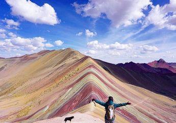 Ditemukan 2013, Ternyata Gunung Pelangi Ini Ada dari Ribuan Tahun Lalu