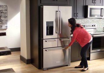 Tak Asal-asalan, Ternyata Ini Dia Posisi Ideal Meletakkan Kulkas di Dapur!