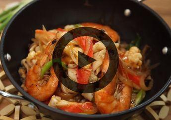 Tak Perlu Bingung Masak Apa, Seafood Saus Tomat Ini Bisa Siap dalam Sekejap!