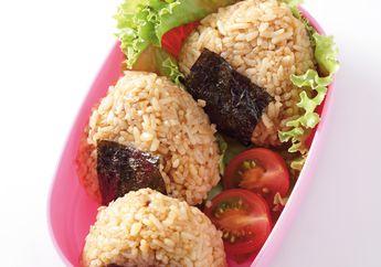 Onigiri Tuna Omurice, Sarapan Nasi Kepal Ala Jepang yang Pasti Disuka Si Kecil
