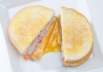 Tuna Cheese Bread, Sarapan Fancy dengan Roti yang Meleleh-Leleh Kejunya