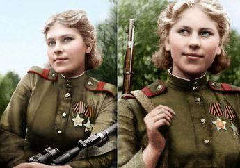 Cantik Namun Mematikan, Inilah Roza Shanina Sniper Wanita Terbaik Milik Soviet