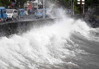 Waspadalah, Pada 15-18 Agustus Gelombang Tinggi Akan Menerpa Indonesia