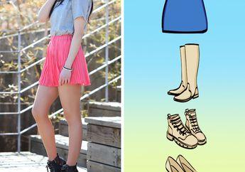 Jangan Salah, Ini Padu Padan Sepatu dan Rok Agar Makin Stylish