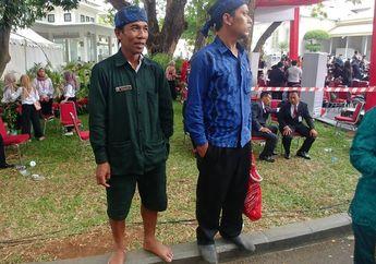Tanpa Alas Kaki Pria Ini Datang ke Istana Negara Untuk Ikut Upacara Kemerdekaan