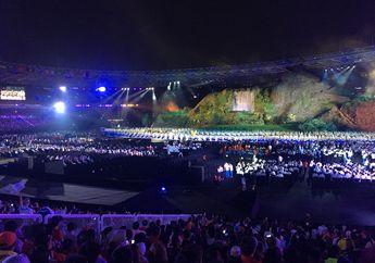 Intip Semarak dan Meriahnya Opening Ceremony Asian Games 2018