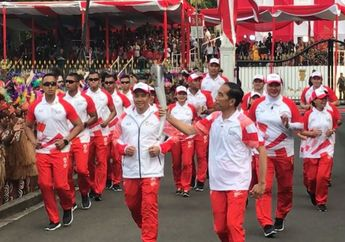 6 Atlet Legenda Indonesia Ini Bawa Obor Asian Games 2018, Siapa Saja?
