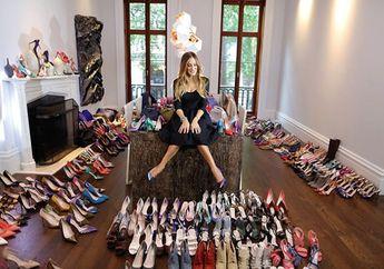 4 Desain Rak Sepatu Tak Perlu Ruangan Luas, Nomor 4 Pakai Barang Bekas