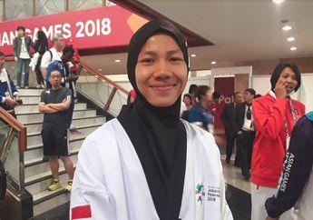 Permohonan Maaf Mariska Halinda Atlet Taekwondo yang Gagal Lanjut ke Semifinal