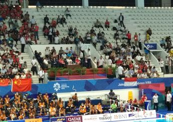 Disambut Histeris, Jokowi Hadir dalam Final Cabang Olahraga Renang