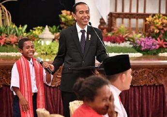 Sempat Berhenti Manjat Tiang Bendera, Begini Curhatan Joni kepada Presiden Jokowi di Istana Negara