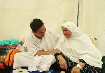 Sahrul Gunawan Tak Sengaja Bertemu Mamah Dedeh di Mina, Warganet Titip Doa