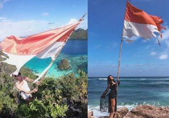 Tak Hanya Nadine, Selebgram Ini Juga Kibarkan Bendera Robek dan Banjir Kritik