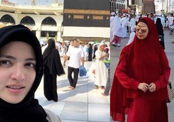Nia Ramadhani Ketemu Asri Welas di Arafah, Ini yang Dilakukan Mereka Berdua