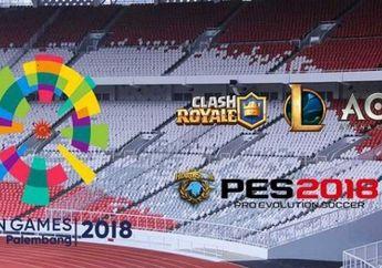 Inilah 6 Games yang Menjadi Cabor di Ajang Asian Games 2018, Catat Jadwalnya!