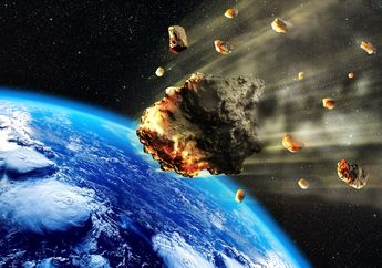 Tiga Asteroid Dekati Bumi Pada Awal Pekan Depan, Ungkap NASA