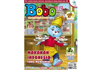 5 Makanan Mendunia di Majalah Bobo Edisi 22 (Terbit 6 September 2018)