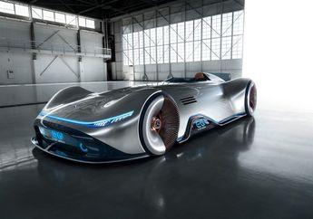 Mercedes-Benz Bikin Mobil Elektrik dengan Desain yang Futuristik Abis