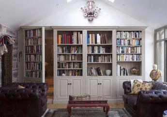 Cocok untuk Rumah Mungil, 4 Ide Desain Perpustakaan Mini Bisa Dicontek