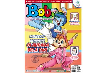 Senangnya! Majalah Bobo Edisi 23 Sudah Terbit (Terbit 13 September 2018)