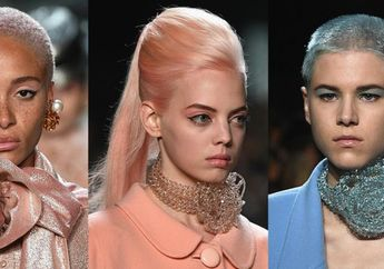 Inspirasi Warna Rambut Pastel dari Panggung New York Fashion Week Spring/Summer 2019
