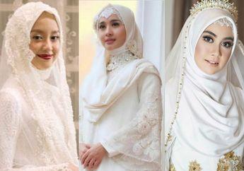 3 Nama Desainer Busana Pengantin Hijab, dengan Koleksi Gaun Simpel Namun Tetap Anggun