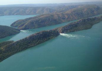 Di Australia Ada Air Terjun Unik, Mengalir Secara Horisontal
