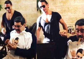 Negaranya Dilanda Krisis, Presiden Venezuela Malah Tertangkap Kamera Sedang Makan Malam Mewah