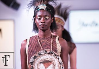 Bikin Bangga! Tas Noken Papua Hadir di London Fashion Week 2018
