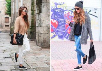 4 Rekomendasi Sepatu Slip On Wanita Dengan Harga Terjangkau, Bikin Tampilan Semakin Stylish