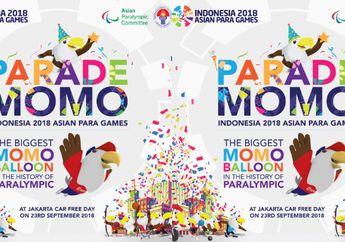 Jelang Asian Para Games 2018, Ribuan Peserta Berpartisipasi Meriahkan Parade Momo