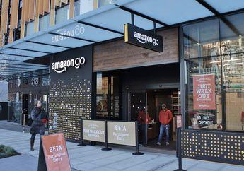 Toko Ritel Walmart Terancam Bangkrut karena Ribuan Amazon Go