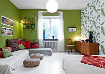 Tanpa Sofa, Begini Cara Hadirkan Ruang Keluarga Nyaman dan Asik!