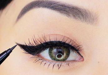 Cuma 4 Zodiak Ini yang Bagus & Sabar Memakai Liquid Eyeliner!